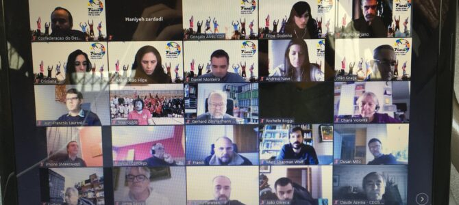 The first Webinar on the 7th World Sports Games for All TAFISA 2021